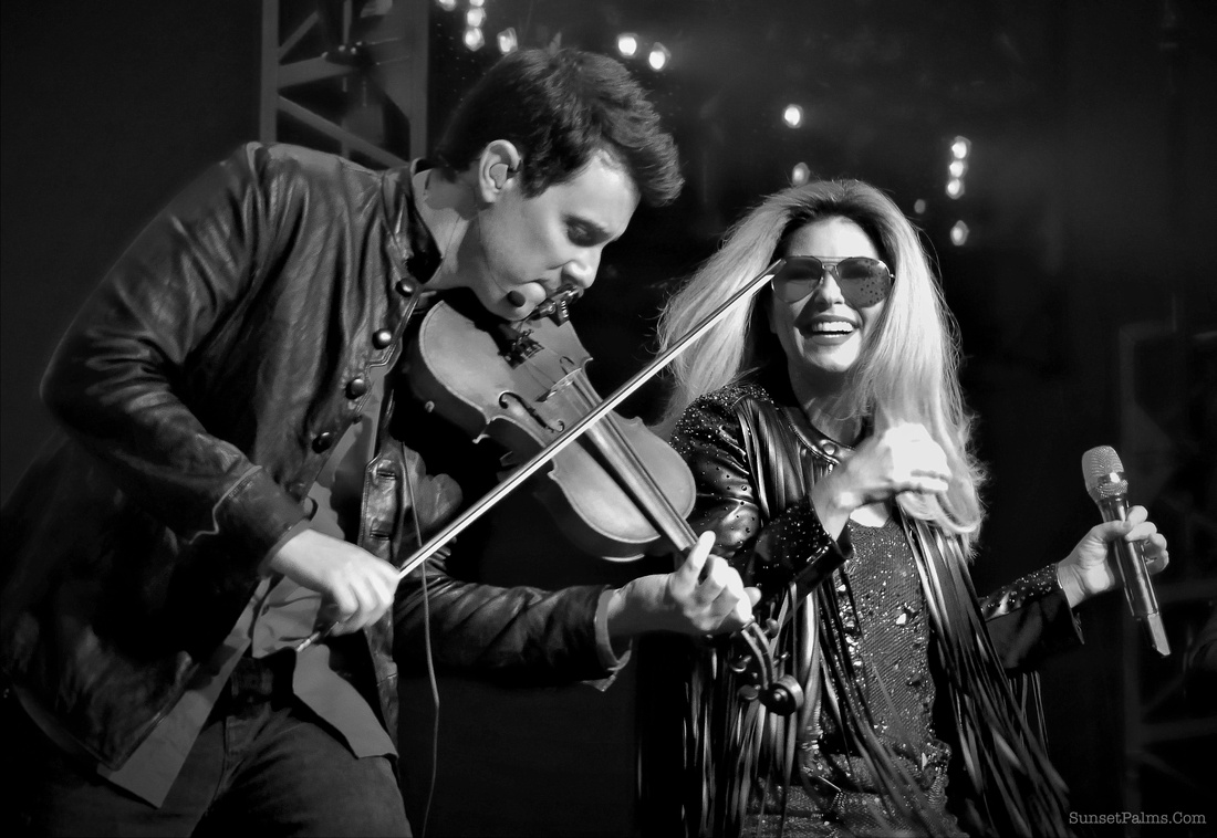 Shania Twain and Jason Mowery